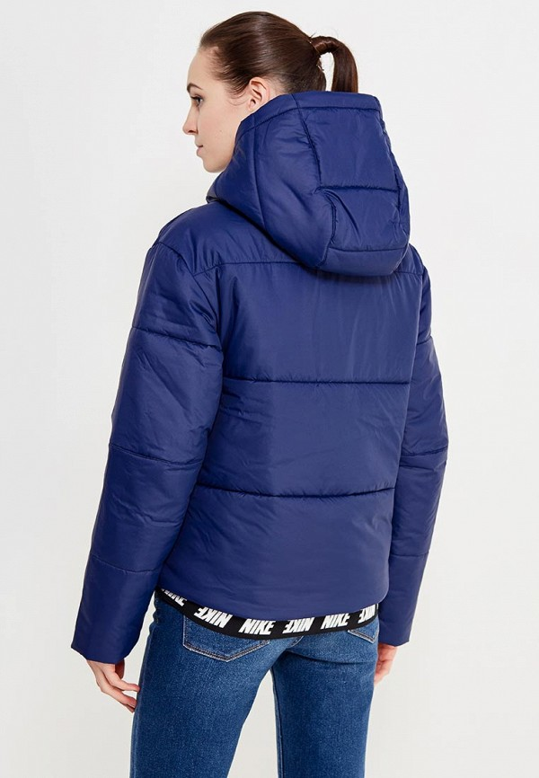 Фото 3 - Куртку утепленная Nike синего цвета