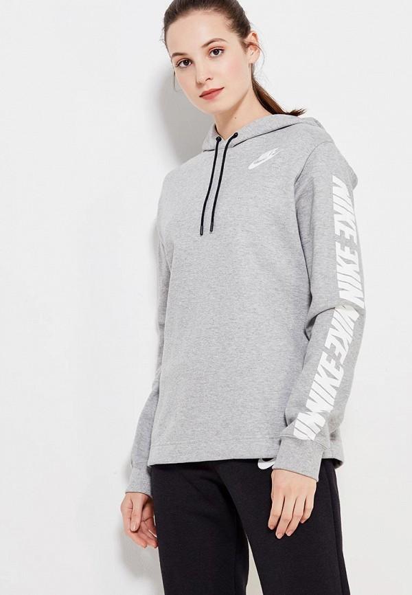 Худи Nike Nike NI464EWUGW09 худи nike худи w nsw av15 hoodie fz flc