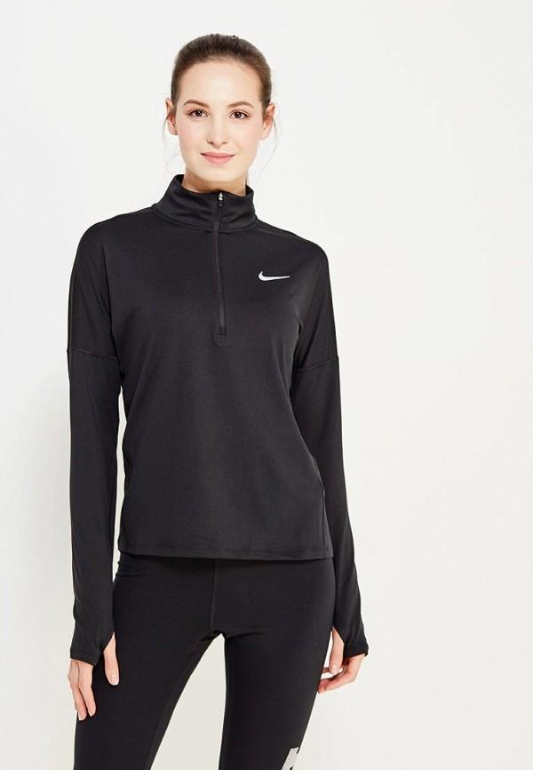 Купить Лонгслив спортивный Nike, W NK DRY ELMNT TOP HZ, NI464EWUGY78, черный, Весна-лето 2018
