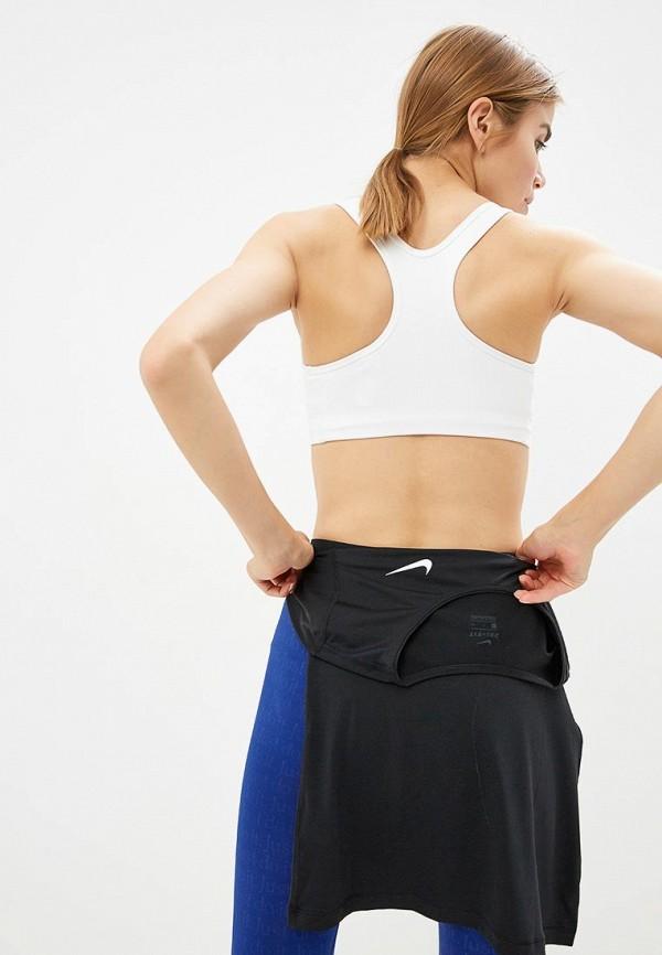 Фото 3 - Топ спортивный Nike белого цвета