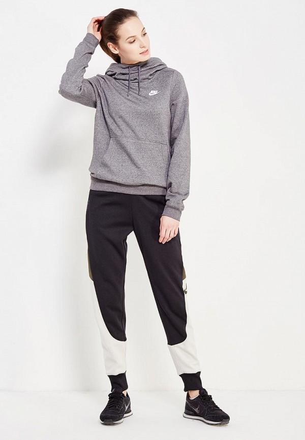 Фото 2 - Худи Nike серого цвета
