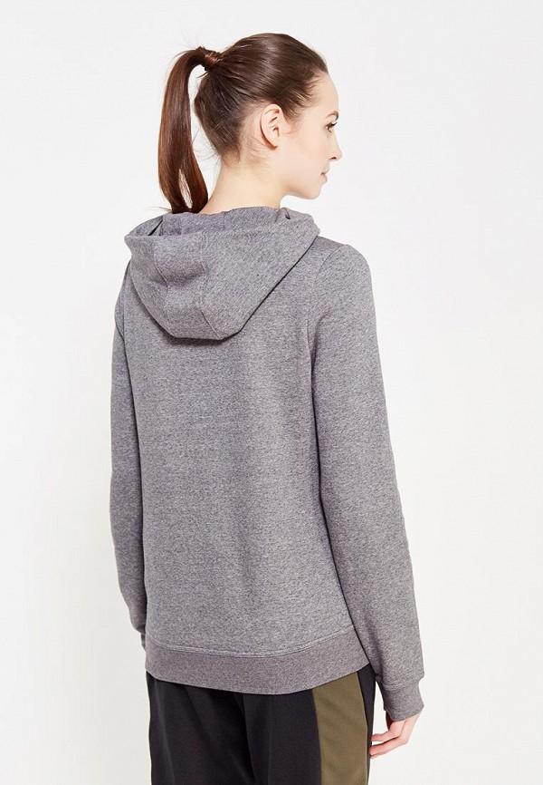 Фото 3 - Худи Nike серого цвета