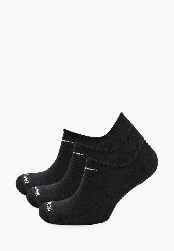 мужские носки nike, черные