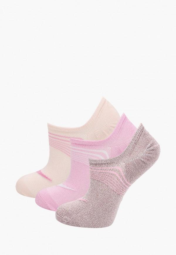 женские носки nike, розовые