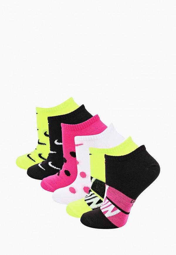 женские носки nike, разноцветные