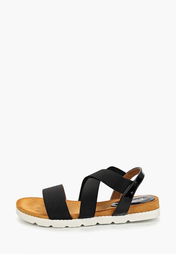 женские сандалии nobbaro, черные