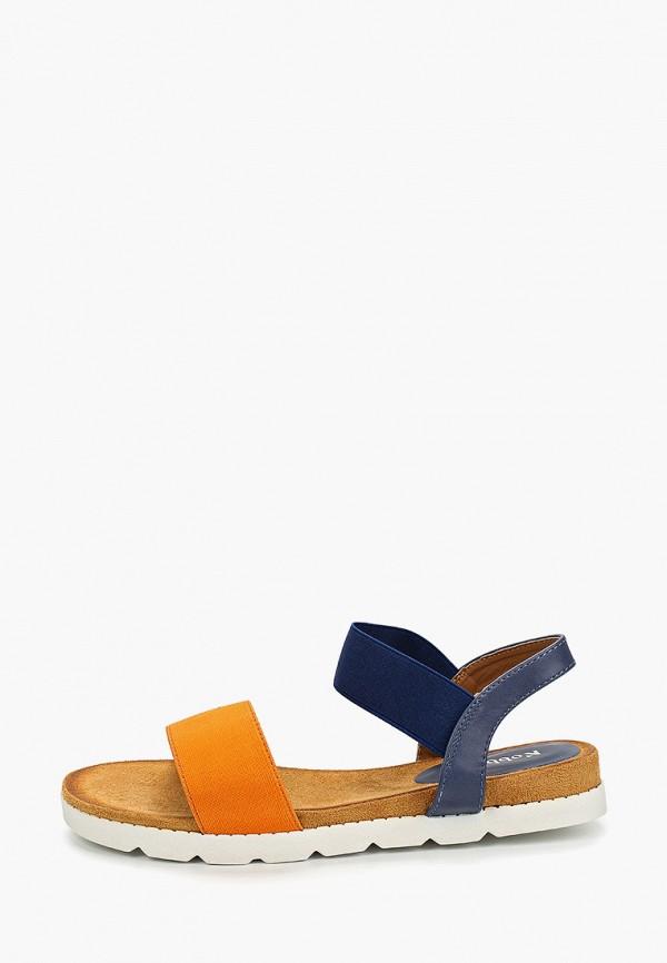 женские сандалии nobbaro, синие