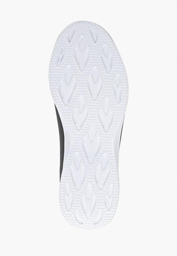 Фото 5 - женские кроссовки Nobbaro серого цвета