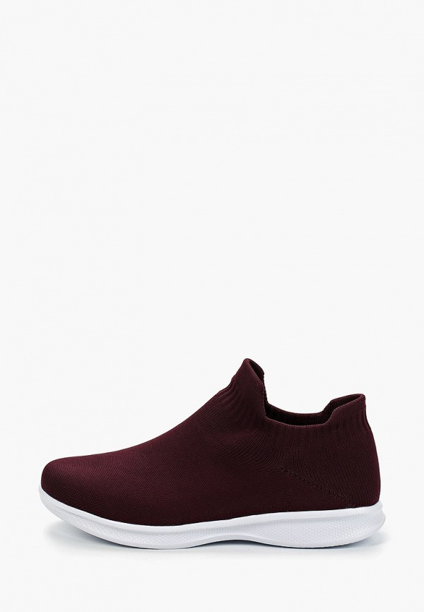 женские кроссовки nobbaro, бордовые