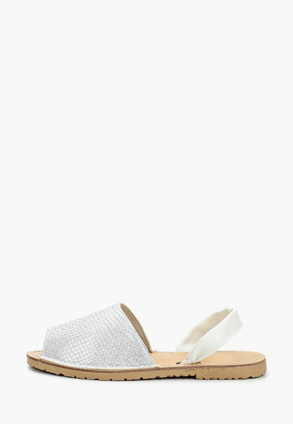 женские сандалии nobbaro, белые