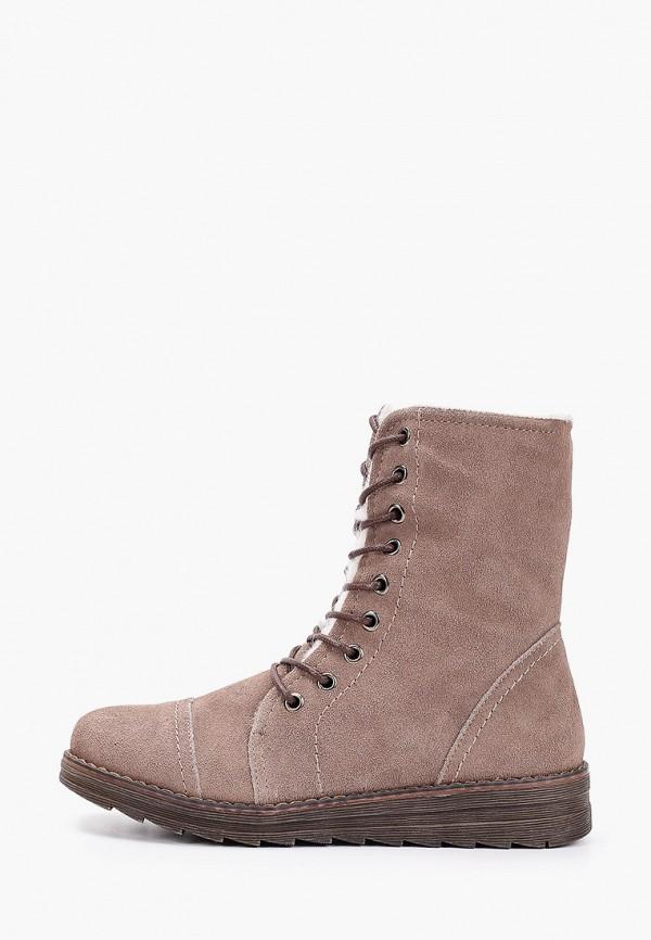 женские ботинки nobbaro, бежевые