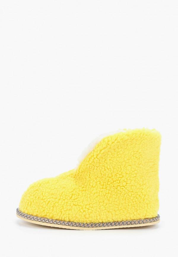 женские тапочки nobbaro, желтые