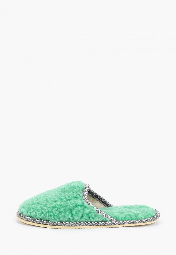 женские тапочки nobbaro, зеленые
