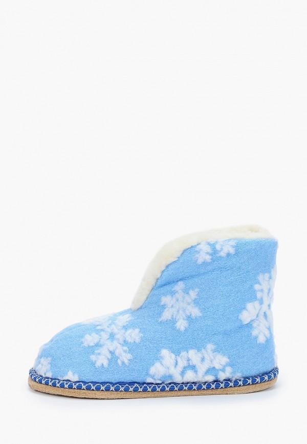 женские тапочки nobbaro, голубые