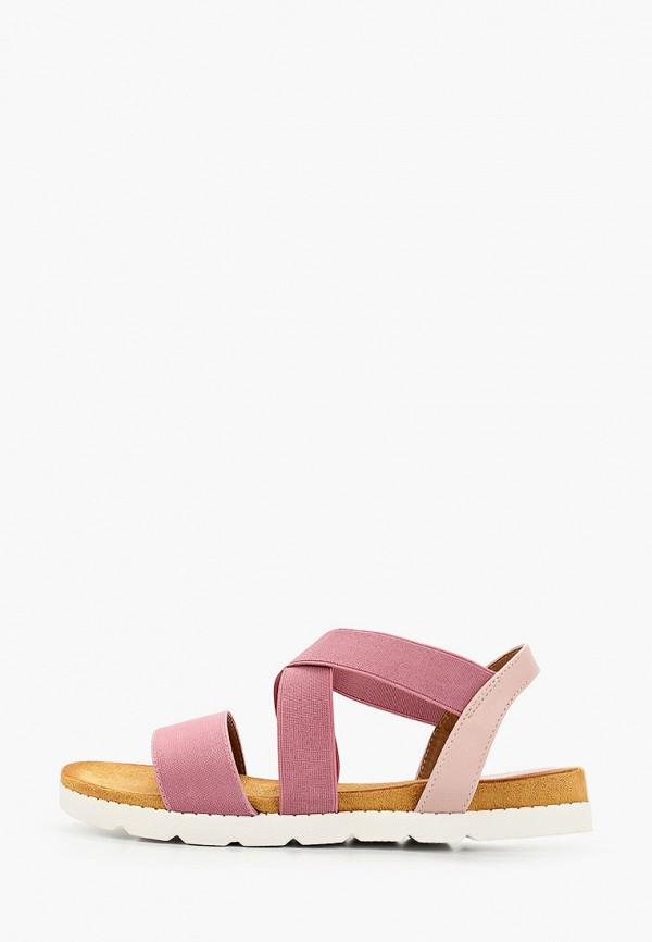 женские сандалии nobbaro, розовые