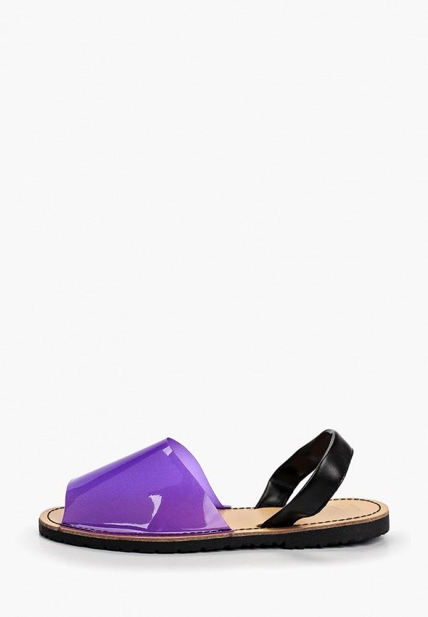 женские сандалии nobbaro, фиолетовые