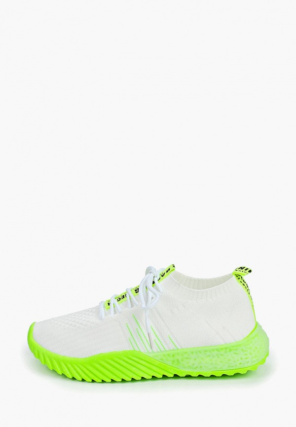 женские кроссовки nobbaro, белые