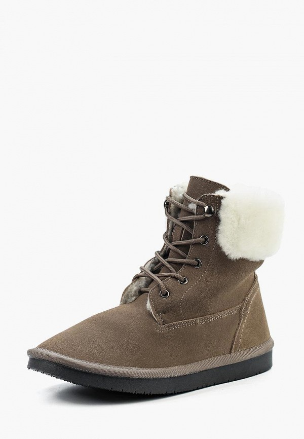 Фото - женские ботинки и полуботинки Nobbaro коричневого цвета