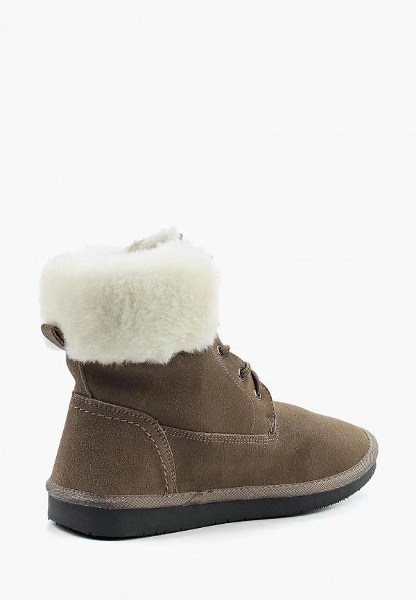 Фото 2 - женские ботинки и полуботинки Nobbaro коричневого цвета