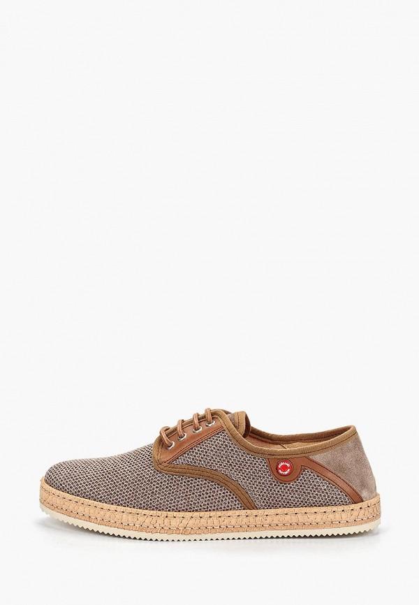 мужские туфли nobrand, коричневые