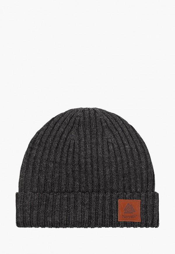 мужская шапка noryalli, серая