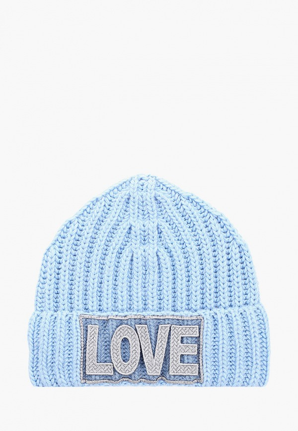 женская шапка noryalli, голубая