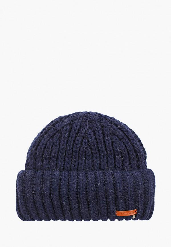 женская шапка noryalli, синяя