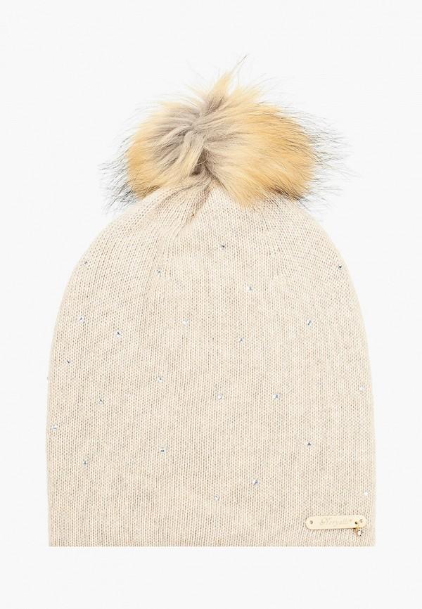 женская шапка noryalli, бежевая