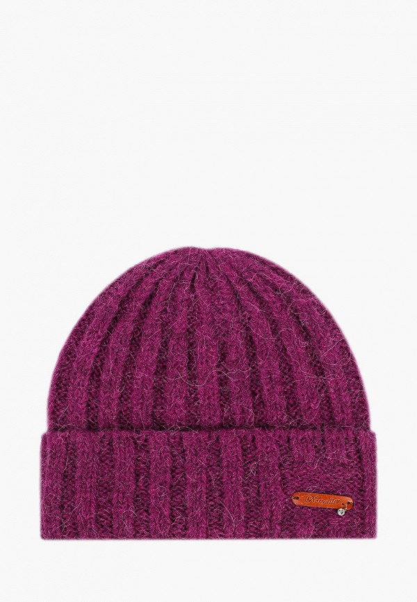 женская шапка noryalli, фиолетовая