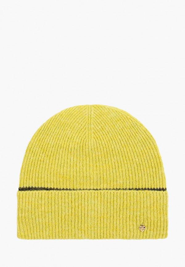 женская шапка noryalli, желтая