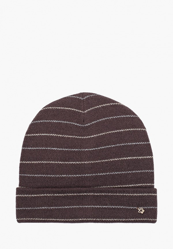 женская шапка noryalli, коричневая