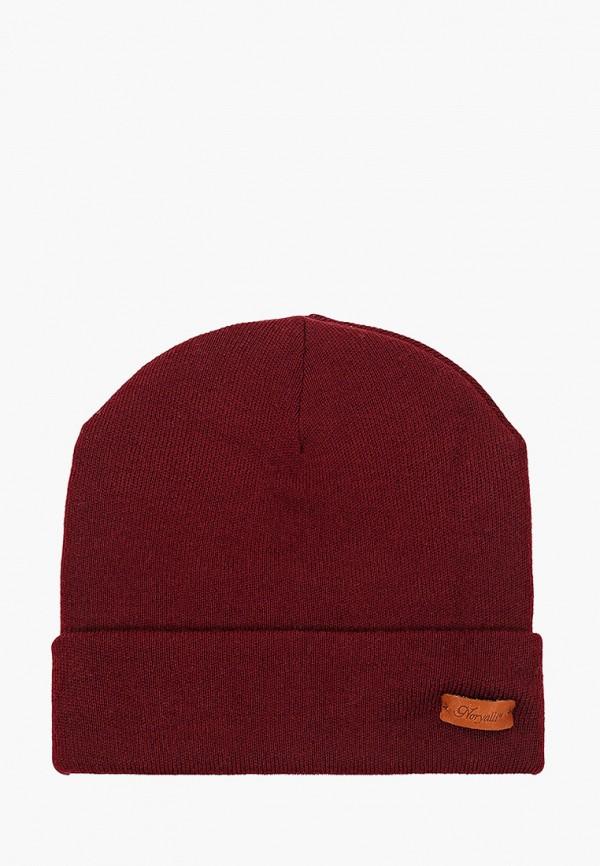 женская шапка noryalli, бордовая