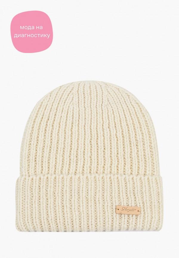 женская шапка noryalli, белая