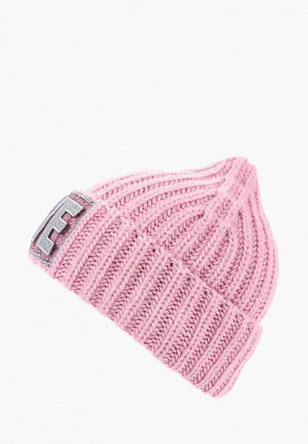 женская шапка noryalli, розовая