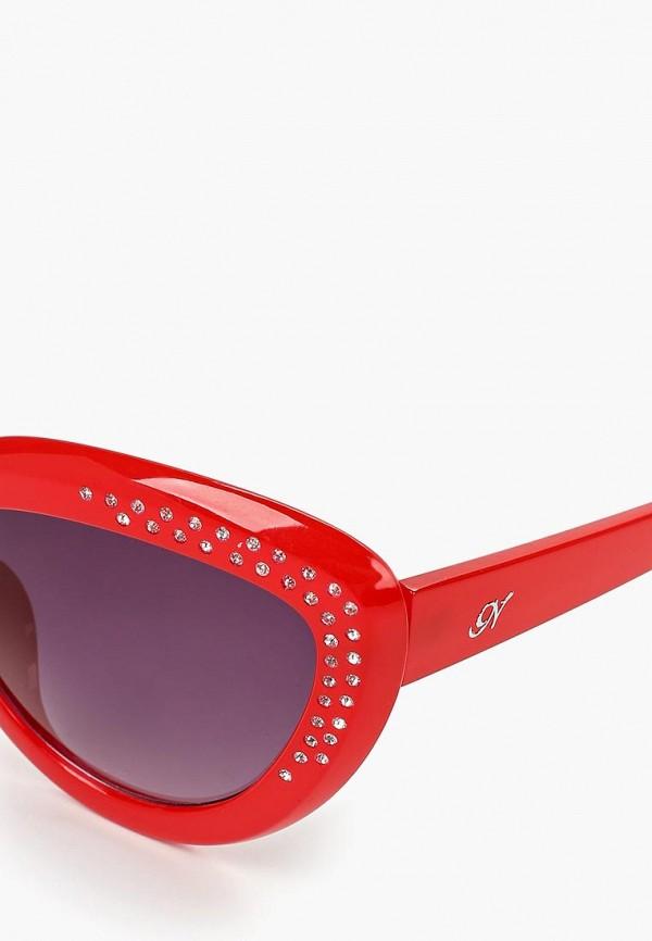 Фото 2 - Очки солнцезащитные Noryalli красного цвета