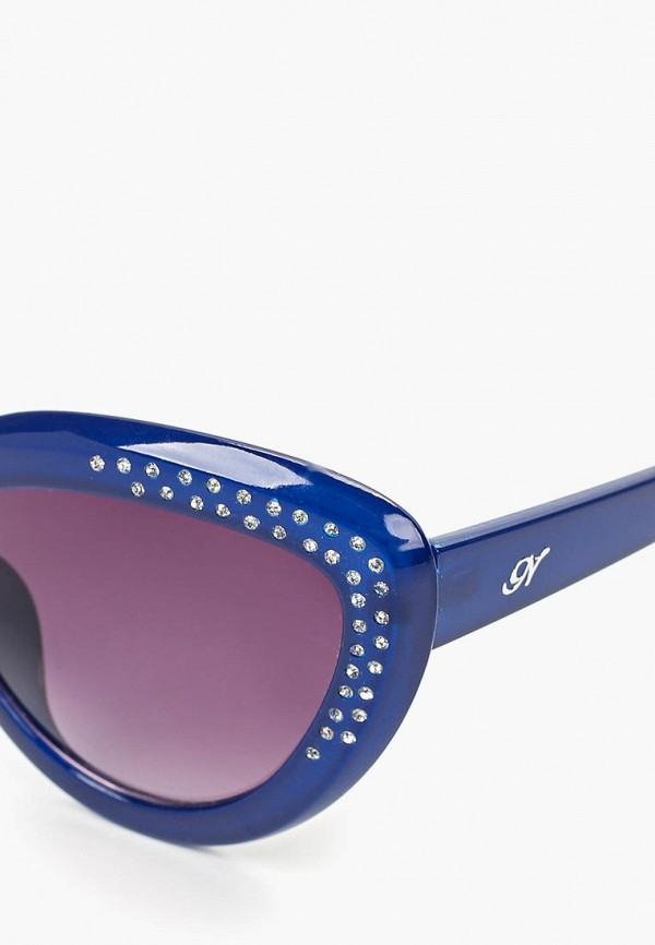 Фото 2 - Очки солнцезащитные Noryalli синего цвета