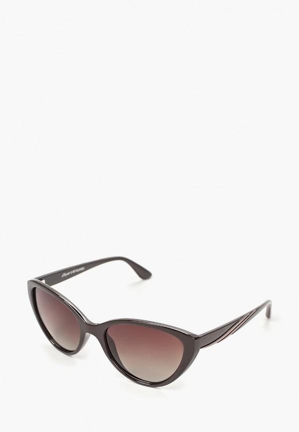 женские солнцезащитные очки noryalli, коричневые