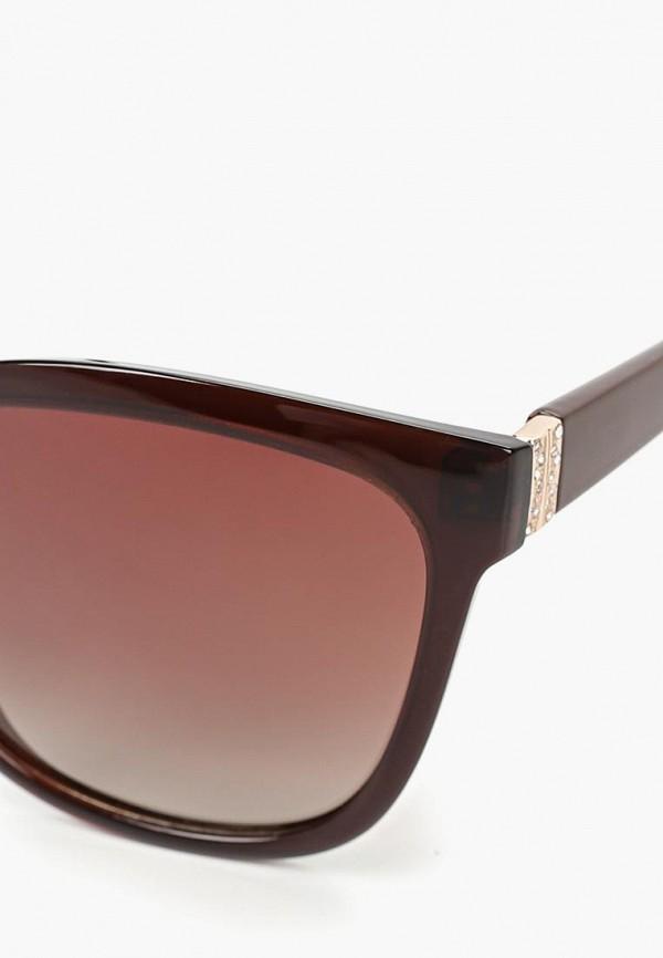 Фото 2 - Очки солнцезащитные Noryalli коричневого цвета