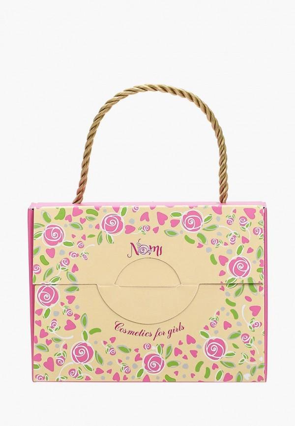 Набор косметики Nomi Лак для ногтей №03 + Блеск для губ Клубничное варенье + Бальзам
