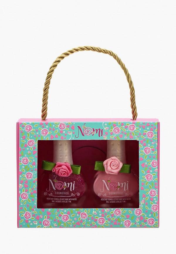 Купить Набор лаков для ногтей Nomi, №10 и №13, no028lkzye79, розовый, Осень-зима 2018/2019