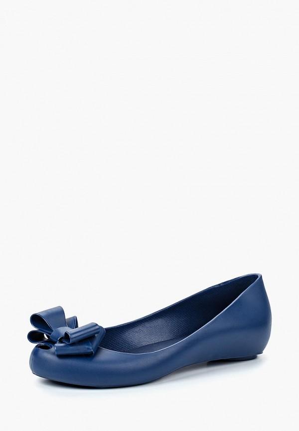 женские балетки noos icon, синие