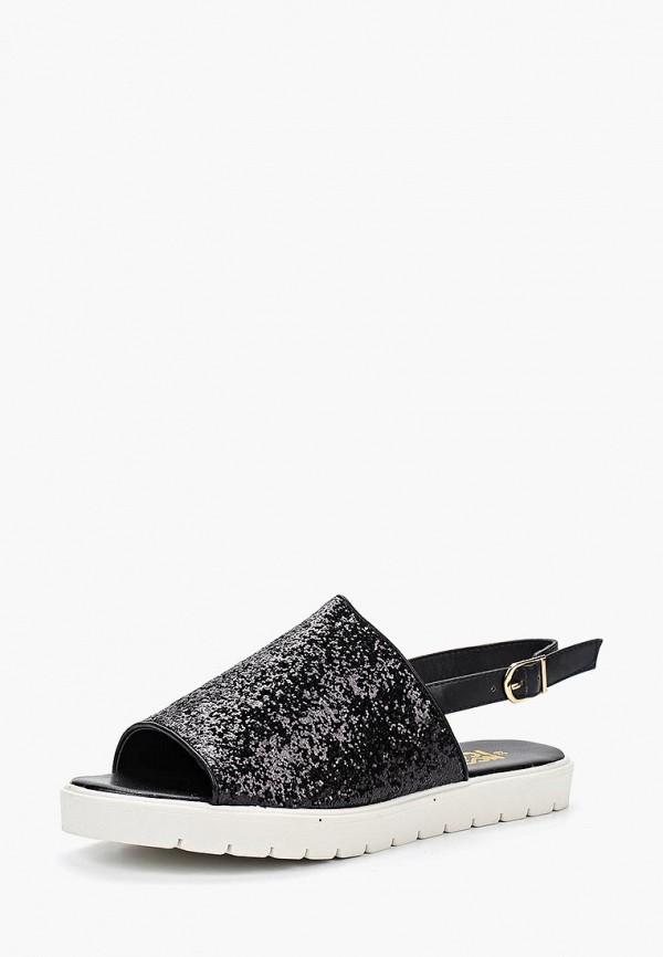 женские сандалии noos icon, черные