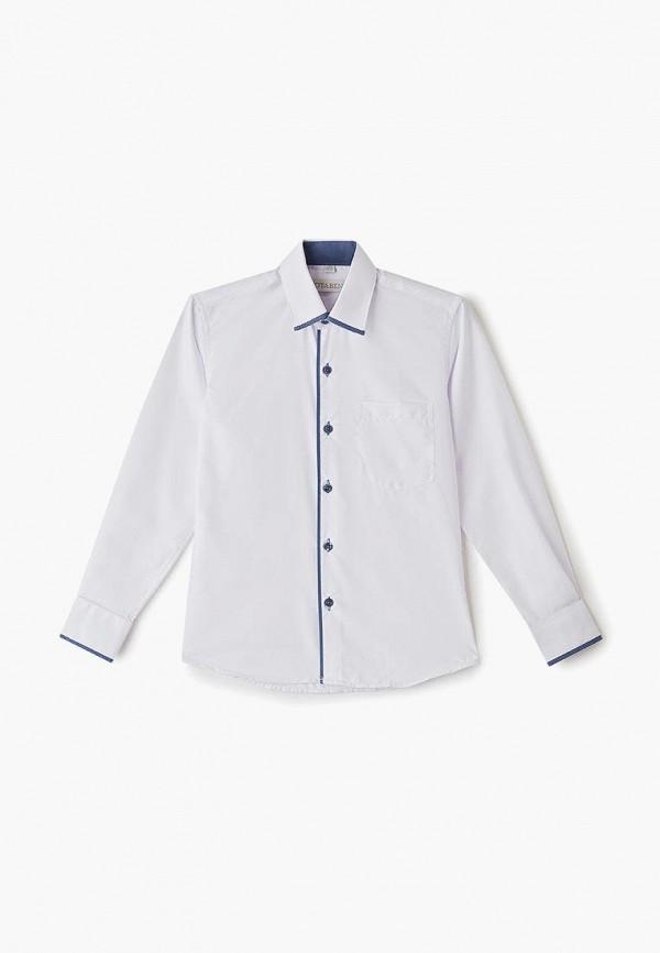 рубашка nota bene для мальчика, белая