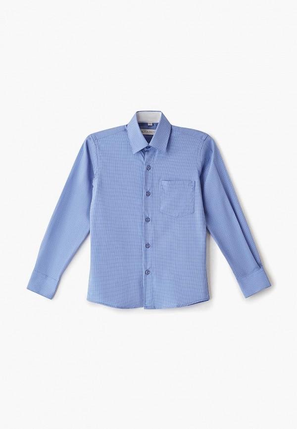 рубашка nota bene для мальчика, голубая