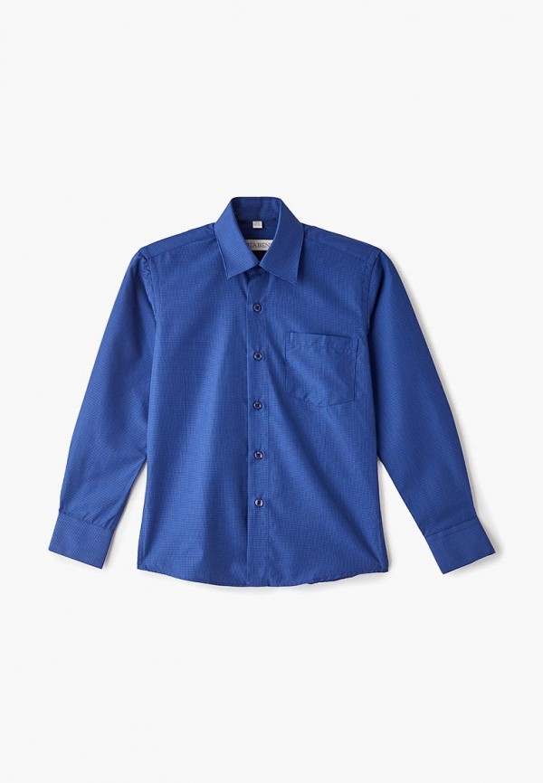 рубашка nota bene для мальчика, синяя