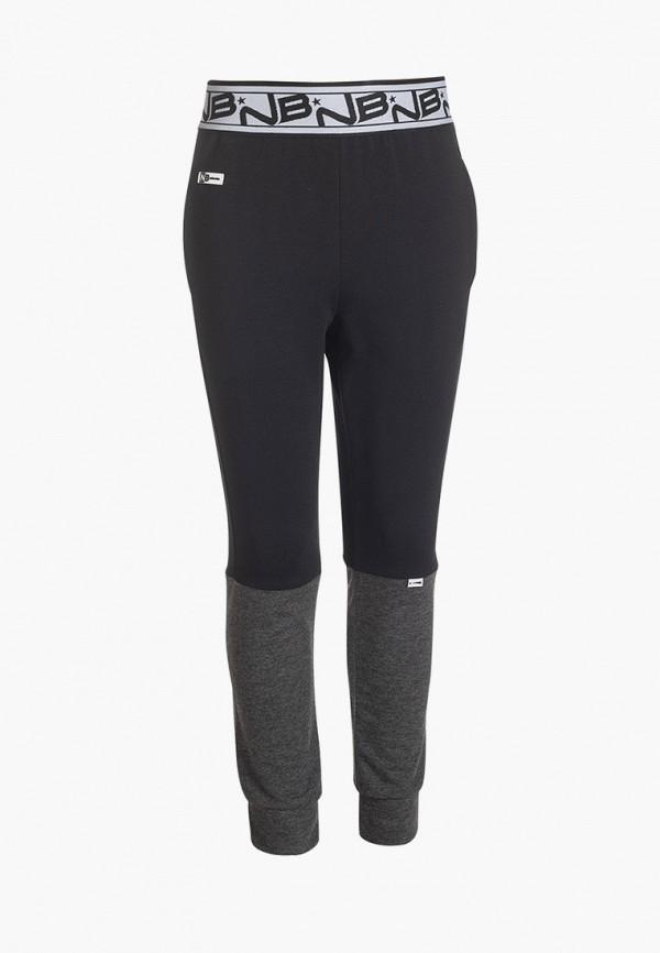 спортивные брюки nota bene для мальчика, черные