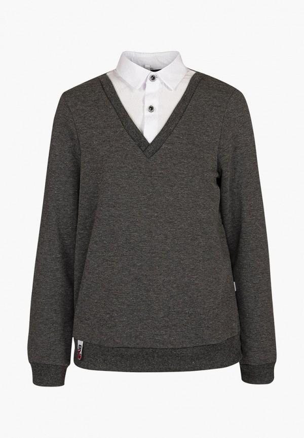 Пуловер Nota Bene Nota Bene 181140305а-51 серый фото