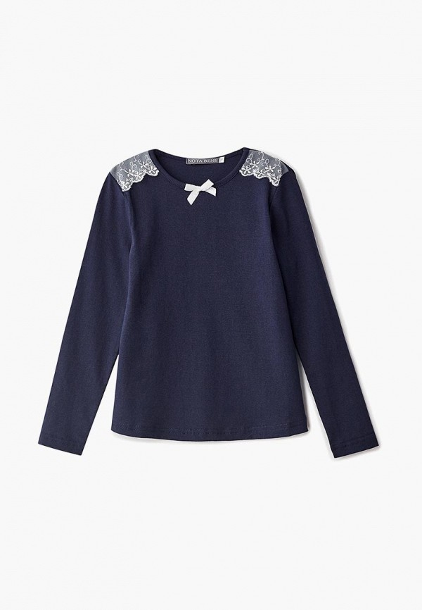 Купить Лонгслив Nota Bene, NO030EGBXQL0, синий, Осень-зима 2018/2019