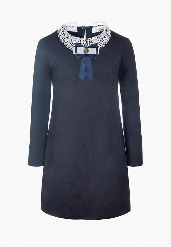 платье nota bene для девочки, синее