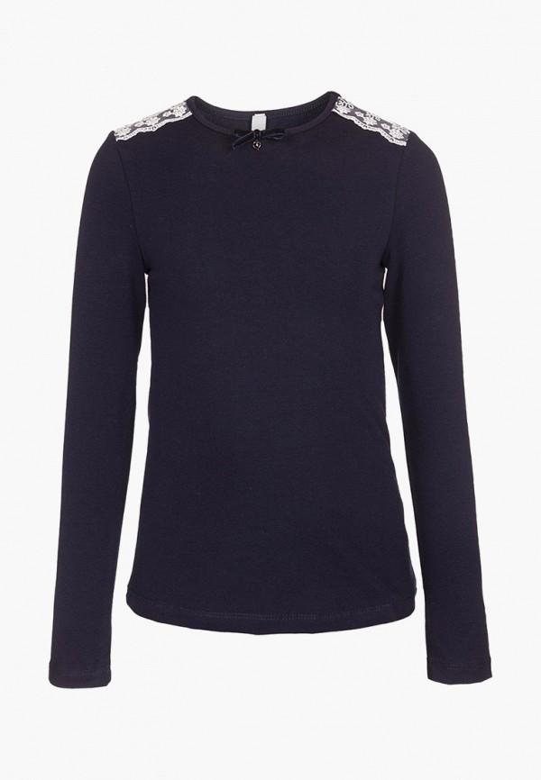блузка nota bene для девочки, синяя